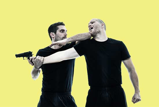 Image of Krav Maga Madison Self-Defense Student Throwing Punch